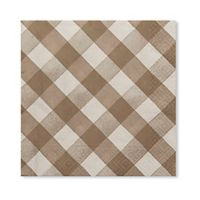 Sophistiplate™ 40-Count 3-Ply Luncheon Napkins in Taupe