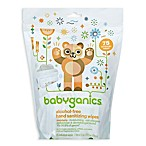 Babyganics® 75-Count Mandarin Scented Alcohol-Free Hand Sanitizing Wipes