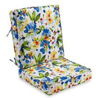 Calais 2-Piece Indoor/Outdoor Deep Seat Cushions in Cobalt