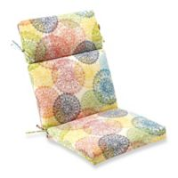 Outdoor High Back Chair Cushion in Multicolor Doiley