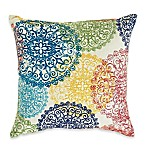 Doily Outdoor 17-Inch Square Indoor/Outdoor Throw Pillow