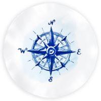 Q Squared Melamine Portsmouth Platter in Blue