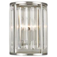 Filament Design Lowell 2-Light Vanity Fixture in Brushed Nickel