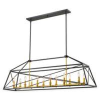 Filament Design Lydia 12-Light Island Fixture in Bronze