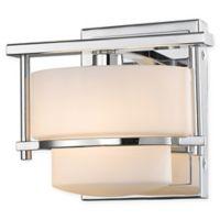 Filament Design Quinn 1-Light LED Wall Sconce in Chrome
