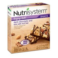 Nutrisystem® Enjoy-full™ 4-Count Dark Chocolate and Sea Salt Nut Snack Bars