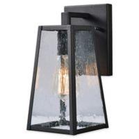 Kenroy Home Kiely Outdoor Small LED Lantern in Black