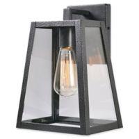 Kenroy Home Kiely Outdoor Medium LED Lantern in Black