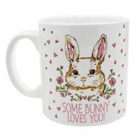 """Some Bunny Loves You"" Ceramic Mug"