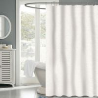 Carlyle Fabric 72-Inch x 72-Inch Shower Curtain in White