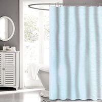 Carlyle Fabric 72-Inch x 72-Inch Shower Curtain in Aqua
