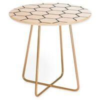 Deny Designs Allyson Johnson Honey Comb Round Side Table