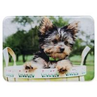 Pets@Heart Barkley 30-Inch x 42-Inch Yorkshire Terrier Door Mat