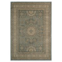 Momeni Belmont Star 2' x 3' Accent Rug Light Blue