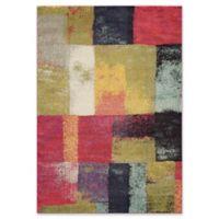 Momeni Casa Patchwork Multicolor 5'3 x 7'6 Area Rug