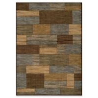 Momeni Dream Patchwork 5'3 x 7'6 Area Rug in Brown