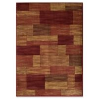 Momeni Dream Patchwork 7'10 x 9'10 Area Rug in Red