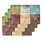 """Faith"" Laminate Placemats (Set of 4)"