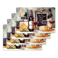 La Fromage Laminate Placemats (Set of 4)