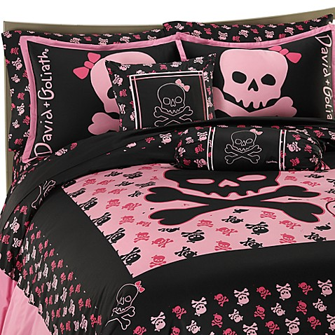 Skully Duvet Cover Set By David And Goliath 100 Cotton Bed Bath Beyond