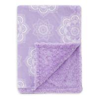 Baby Laundry® Minky Mandala/Tile Blanket in Orchid
