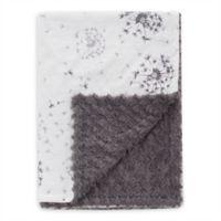 Baby Laundry® Minky Dandelion Breeze/Tile Blanket in Grey