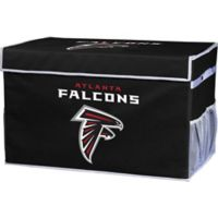 NFL Atlanta Falcons Large Collapsible Storage Foot Locker