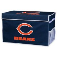 NFL Chicago Bears Large Collapsible Storage Foot Locker
