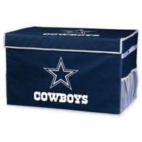 NFL Dallas Cowboys Large Collapsible Storage Foot Locker