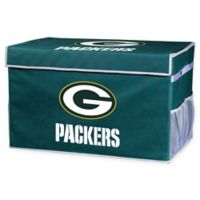 NFL Collapsible Green Bay Packers Small Storage Foot Locker