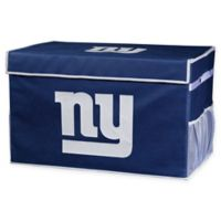 NFL New York Giants Large Collapsible Storage Foot Locker