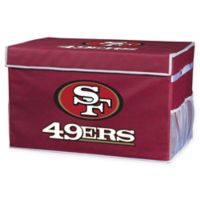 NFL San Francisco 49ers Small Collapsible Storage Foot Locker