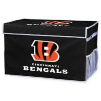 NFL Cincinnati Bengals Large Collapsible Storage Foot Locker