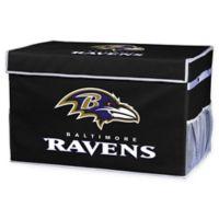 NFL Baltimore Ravens Large Collapsible Storage Foot Locker