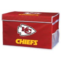 NFL Kansas City Chiefs Large Collapsible Storage Foot Locker