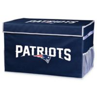 NFL New England Patriots Large Collapsible Storage Foot Locker