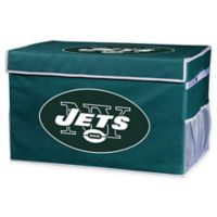 NFL New York Jets Large Collapsible Storage Foot Locker