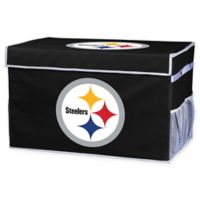 NFL Collapsible Pittsburgh Steelers Small Storage Foot Locker