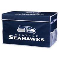 NFL Seattle Seahawks Large Collapsible Storage Foot Locker