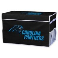 NFL Carolina Panthers Small Collapsible Storage Foot Locker