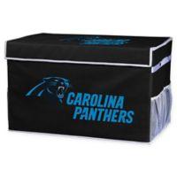 NFL Carolina Panthers Large Collapsible Storage Foot Locker