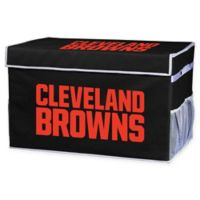 NFL Cleveland Browns Large Collapsible Storage Foot Locker