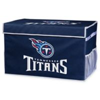 NFL Tennessee Titans Large Collapsible Storage Foot Locker