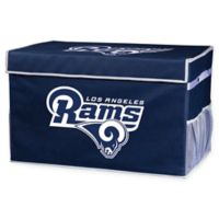 NFL Collapsible Los Angeles Rams Small Storage Foot Locker