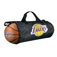 NBA Los Angeles Lakers Basketball to Duffle Bag