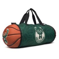 NBA Milwaukee Bucks Basketball to Duffle Bag