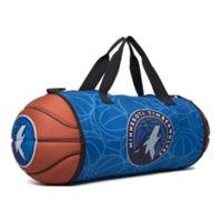 NBA Minnesota Timberwolves Basketball to Duffle Bag