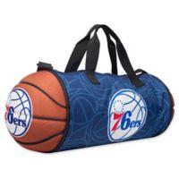 NBA Philadelphia 76ers Basketball to Duffle Bag