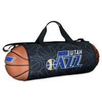 NBA Utah Jazz Basketball to Duffle Bag