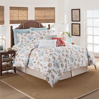 pieces park jacquard ultra a size teal set sets comforter com cal seashells in carmel madison seashell slp king amazon bedroom soft bed coastal microfiber bedding bag